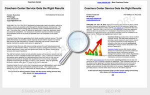 Press Release Writers Sample Before-After